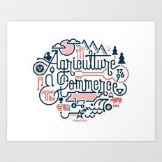 Tennessee Art Print