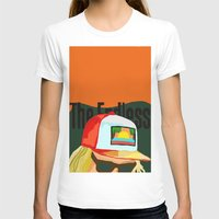 The Endless ONE Womens Fitted Tee White SMALL