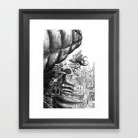 Sky Bird Framed Art Print
