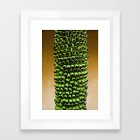 Future bananas Framed Art Print
