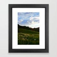 Morning Walk | Colorado Framed Art Print