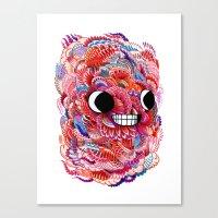 friendly pattern Canvas Print