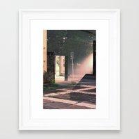Reflexion, Adrien THIBAULT. Framed Art Print