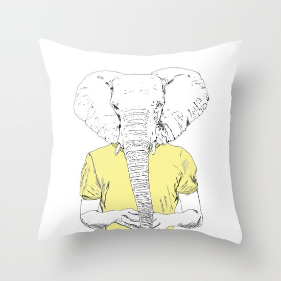 Wild Nothing II Throw Pillow