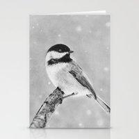 Chickadee Stationery Cards