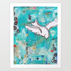 Fly Home Art Print