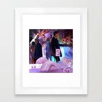 Hand Jive Framed Art Print