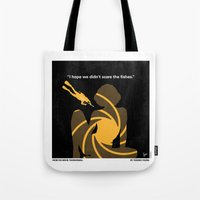 No277-007 My Thunderball minimal movie poster Tote Bag