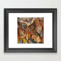 The Grand View Framed Art Print