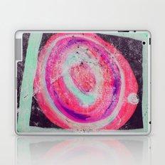 Abstract Green Pink Laptop & iPad Skin