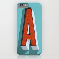 Letter A iPhone 6 Slim Case