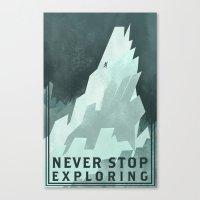 NSE Canvas Print
