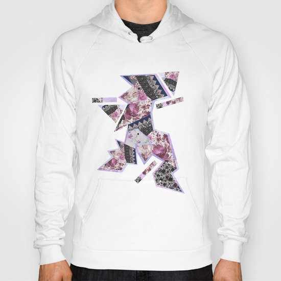 FLORAL HYPNOSIS  Hoody