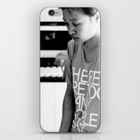 There Are Too Many Peopl… iPhone & iPod Skin