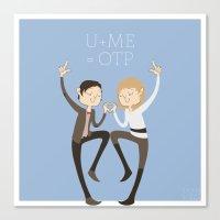 U + ME = OTP (of The TAR… Canvas Print