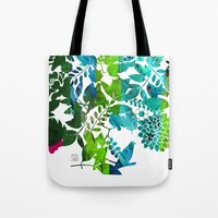 Rising Spring Tote Bag