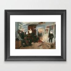The House Of The Last Ca… Framed Art Print