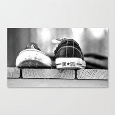 Converse Canvas Print