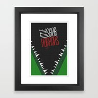 Little Shop of Horrors Framed Art Print