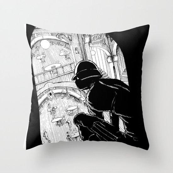Spy Throw Pillow
