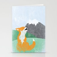 The Wild Fox Stationery Cards