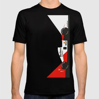 MP4/6 Mens Fitted Tee Black SMALL