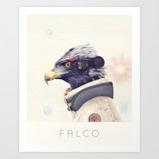 Star Team - Falco Art Print