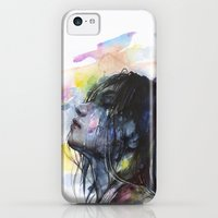 iPhone 5c Cases featuring the layers within by agnes-cecile