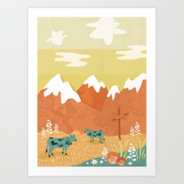 Art Print - Alpine - Kakel
