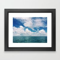 Mosquito Reef Framed Art Print