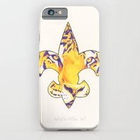 Fleur De Lis LSU Tiger iPhone 6 Slim Case