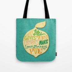 Lemon Meringue Pie Tote Bag