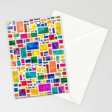 Polygonal Map Stationery Cards
