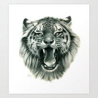 Wicked Tiger G093 Art Print