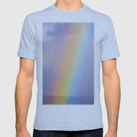 Inside The Rainbow Mens Fitted Tee Athletic Blue SMALL