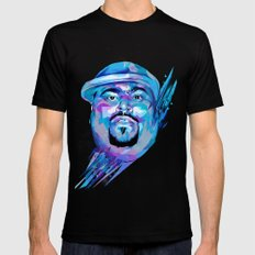 Big Pun : Dead Rappers Serie Black Mens Fitted Tee SMALL