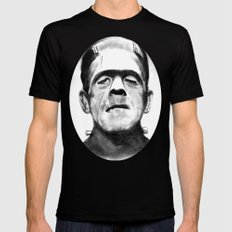Frankenstein Mens Fitted Tee Black SMALL