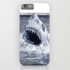 Shark Attacks! ( by Luca Conca for Passenger Press) Slim Case iPhone 6s