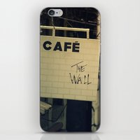 Cafe The Wall iPhone & iPod Skin