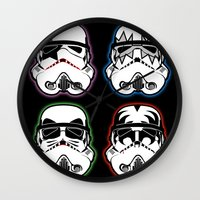 Kiss Troopers Wall Clock