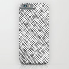 Weave 45 Black and White Slim Case iPhone 6s