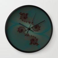 Dream Fractal Wall Clock