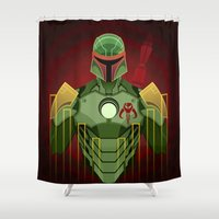 The Bounty Hunter Shower Curtain