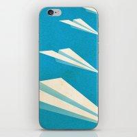 Paper squadron iPhone & iPod Skin