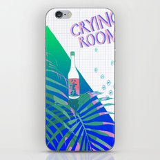 crying room iPhone & iPod Skin