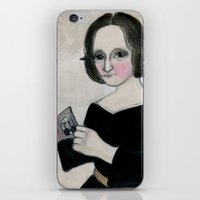 Mary Shelley And The Mon… iPhone & iPod Skin