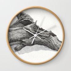 Fallen Tree Wall Clock
