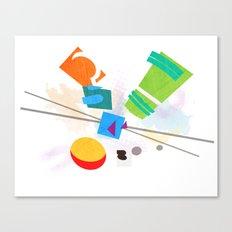 Rocko's Modern Art Canvas Print