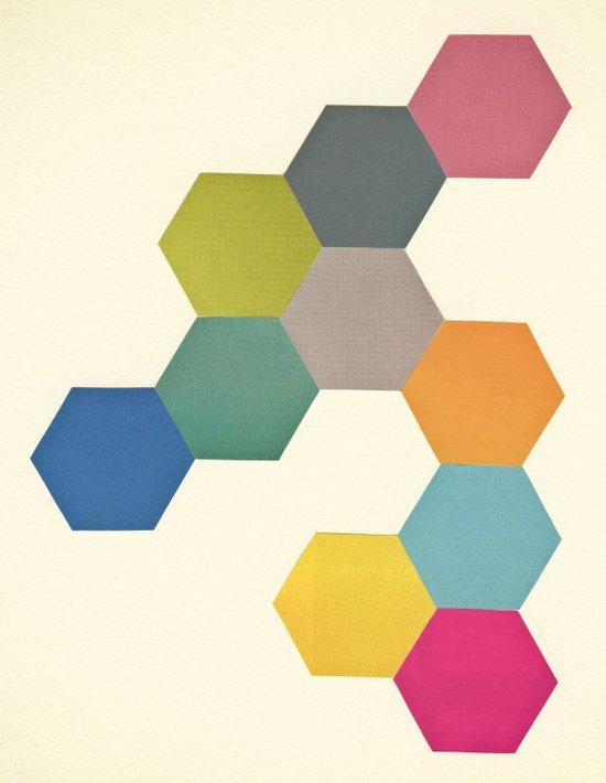 Honeycomb I Art Print