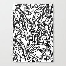 Banana Jungle Canvas Print